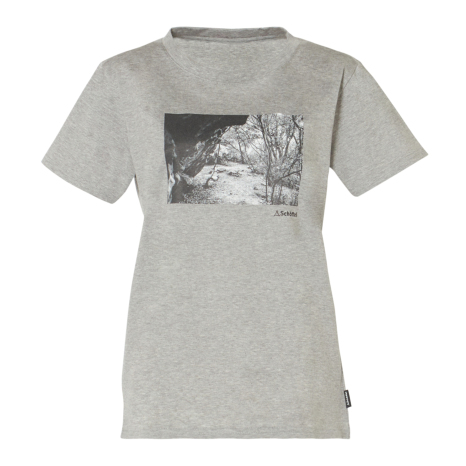 Schoffel (ショッフェル)UV COTTON T-SHIRT TRAIL/MIX GREY