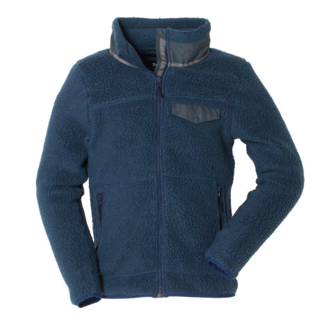 Schoffel (ショッフェル) SHERPA FLEECE JACKET MEN/MIX NAVY(Mens)