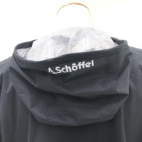 Schoffel (ショッフェル) ALL WEATHER S-CAFE ANORAK / BLACK(Unisex)