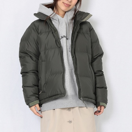 Schoffel (ショッフェル)DOWN JACKET SHORT / KHAKI(Unisex)