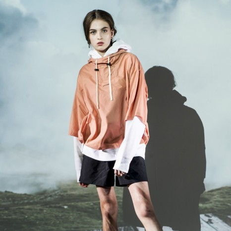 Schoffel (ショッフェル) HALF SLEEVE ANORAK / ORANGE(Unisex)