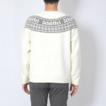 Schoffel (ショッフェル)KNIT SWEATER / WHITE(Unisex)