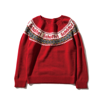 Schoffel (ショッフェル)KNIT SWEATER / RED(Unisex)