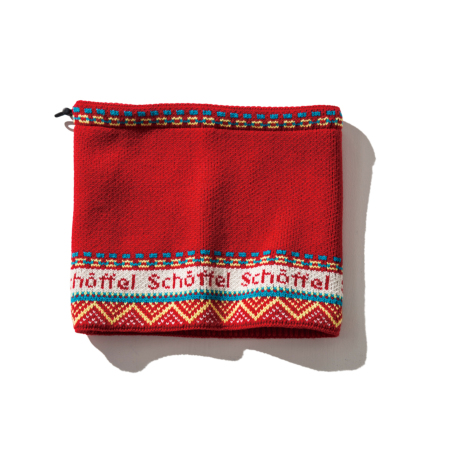Schoffel (ショッフェル)NECK WARMER / RED(Unisex)
