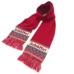 Schoffel (ショッフェル)KNIT SCARF / RED(Unisex)