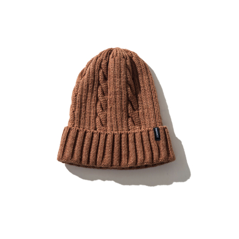 Schoffel (ショッフェル)KNIT CAP / COFFEE BROWN(Unisex)展開)