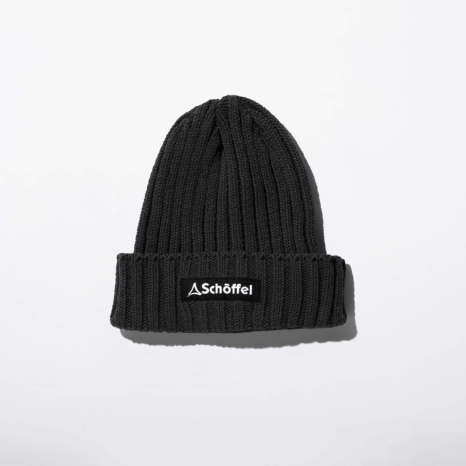 Schoffel (ショッフェル)KNIT CAP / BLACK(Unisex)