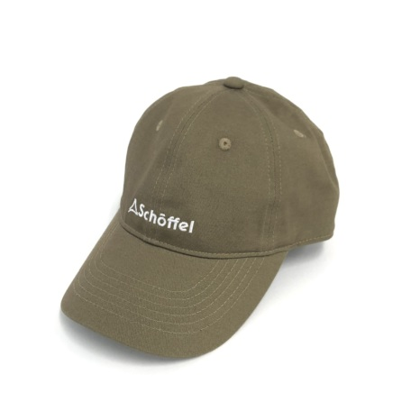 Schoffel (ショッフェル) BASIC MINI LOGO CAP / MUD(Unisex)