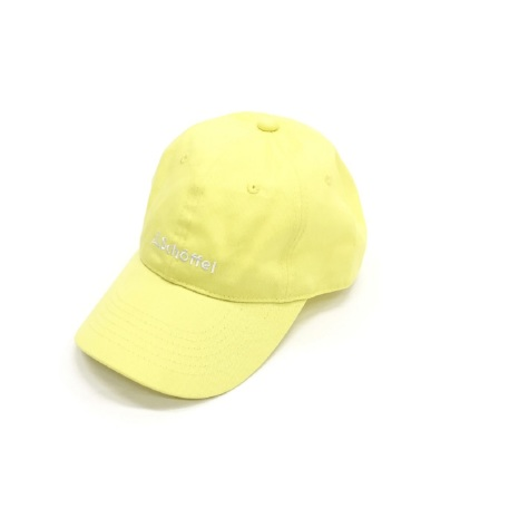 Schoffel (ショッフェル) BASIC MINI LOGO CAP / LE-YELLOW(Unisex)