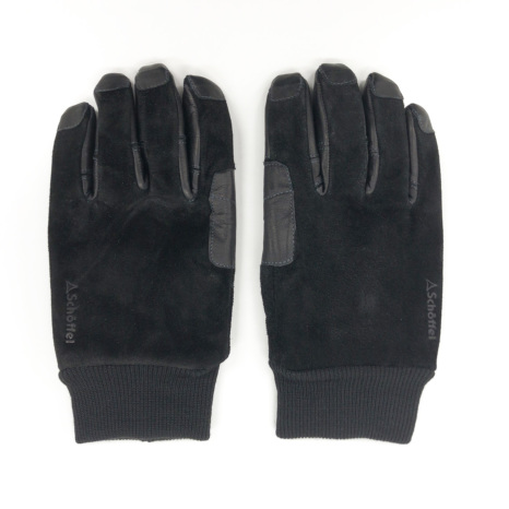 Schoffel (ショッフェル)OUTDOOR LETHER GLOVE / BLACK(Unisex)