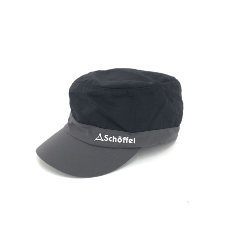 Schoffel (ショッフェル) BI-COLOR CAP / BLACK(Unisex)
