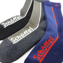 Schoffel (ショッフェル)LOGO SOCKS (REGULAR) / GREY