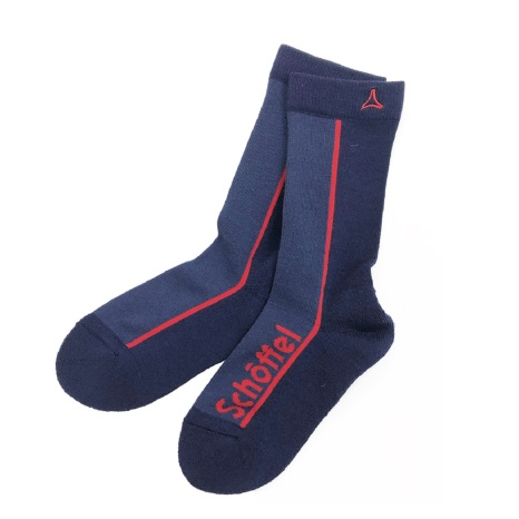 Schoffel (ショッフェル)LOGO SOCKS (REGULAR) / NAVY