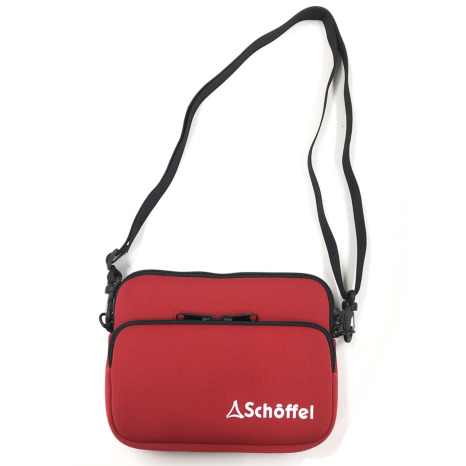 Schoffel (ショッフェル)SHOULDERPOUCH / RED*WHITE