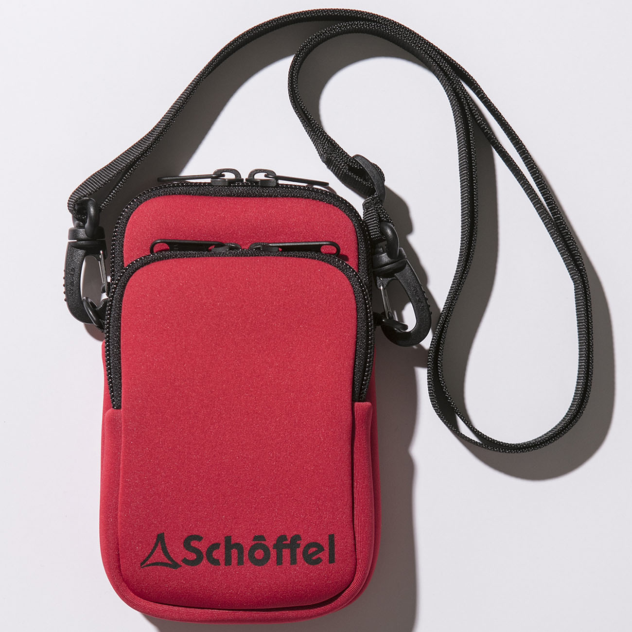 Schoffel (ショッフェル)MINI SHOULDERPOUCH / RED