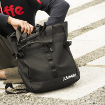 Schoffel (ショッフェル) 2WAY SQUARE TOTE BAG / BLK*WHT(Unisex)