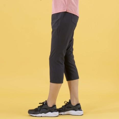 Janestyle(ジェーンスタイル)ベーシッククロスカプリパンツ ブラック