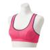 Janestyle(ジェーンスタイル)カラードフィットブラ ネオンピンク×シルバーグレー ピンク 桃色