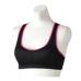Janestyle(ジェーンスタイル)カラードフィットブラ ブラック×ピンク ブラック 黒