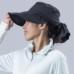 Janestyle(ジェーンスタイル)UVクールハット ブラック×シルバーグレー