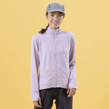 Janestyle(ジェーンスタイル)UVクールフルジップジャケット ピンクモク