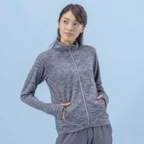 Janestyle(ジェーンスタイル)UVクールフルジップジャケット グレーモク