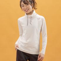 Janestyle(ジェーンスタイル)ハイネックシャツ オフベージュ