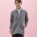 Janestyle(ジェーンスタイル)フルジップジャケット グレーモク