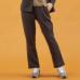 Janestyle(ジェーンスタイル)ニットミセスパンツ ネイビーモク