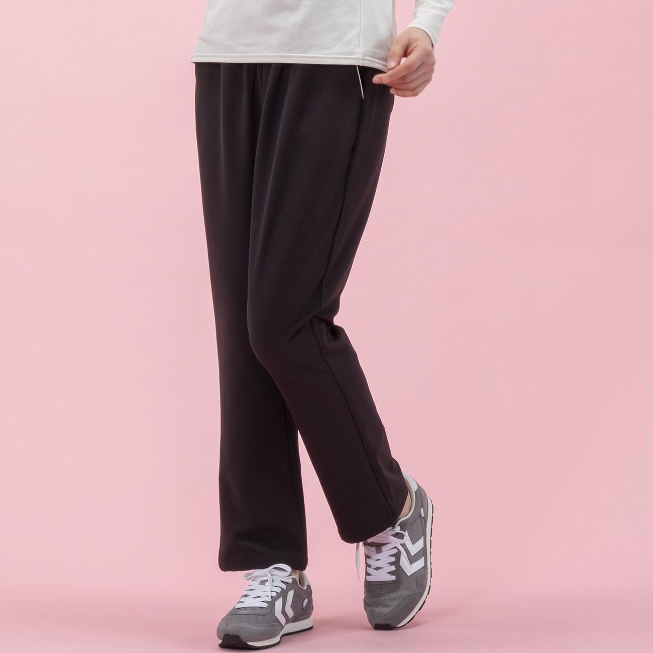 Janestyle(ジェーンスタイル)ストレッチミセスパンツ ブラック