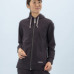 Janestyle(ジェーンスタイル)ストレッチ起毛フードジャケット ネイビー