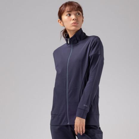 Janestyle(ジェーンスタイル)ジップアップジャケット ネイビー