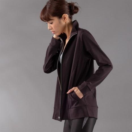 Janestyle(ジェーンスタイル)ジップアップジャケット ブラック