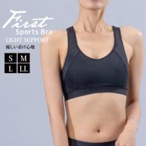Janestyle(ジェーンスタイル)ファーストスポーツブラ ブラック