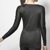 Janestyle(ジェーンスタイル)コンプレッションクルーネックシャツ ブラック 黒