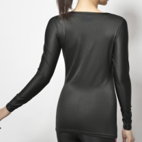 Janestyle(ジェーンスタイル)コンプレッションハイネックシャツ ブラック