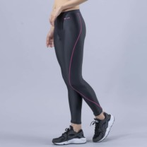 Janestyle(ジェーンスタイル)アクティブレギンス10分丈 ブラック×ピンク