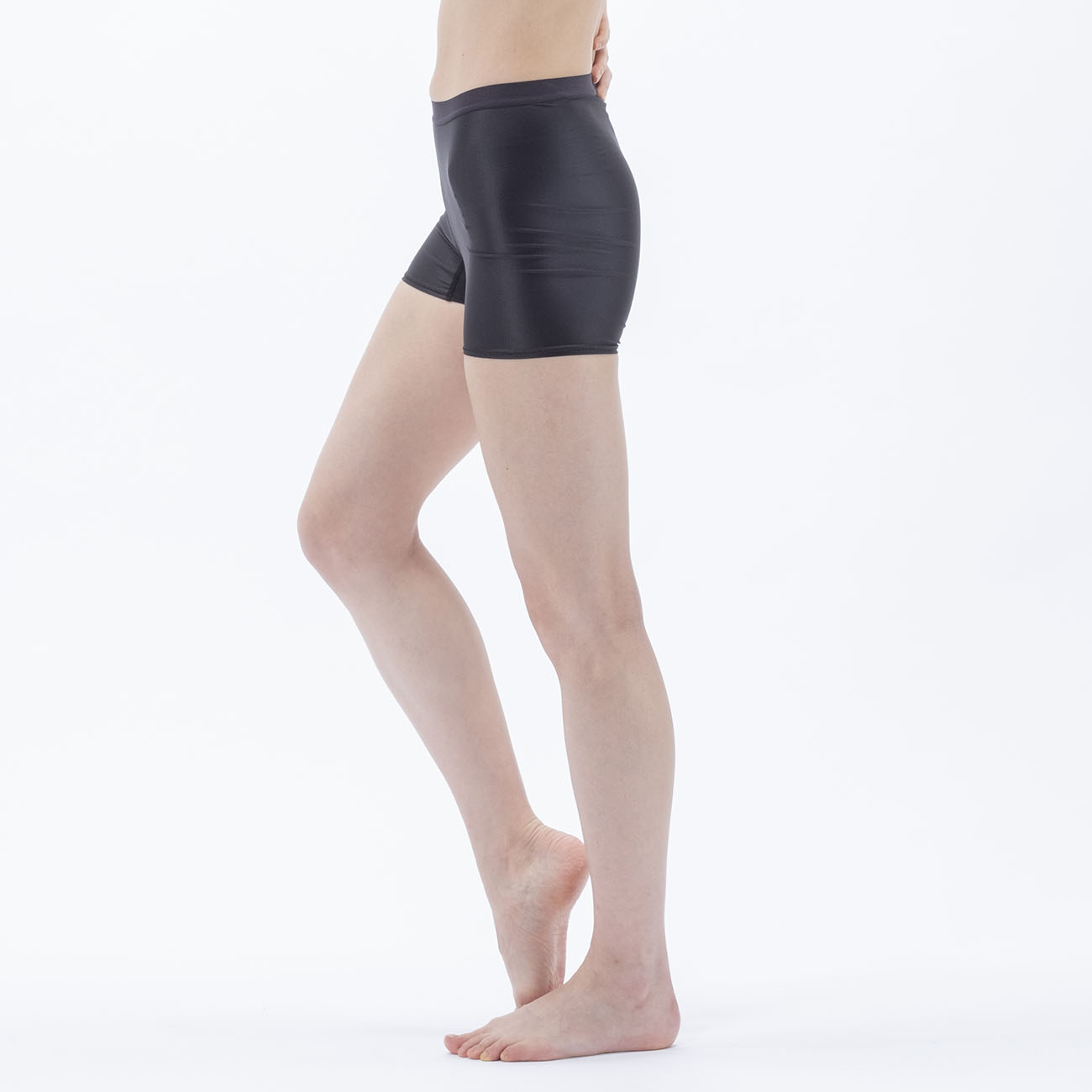 Janestyle(ジェーンスタイル)マルチレイヤードスパッツ1分丈 ブラック