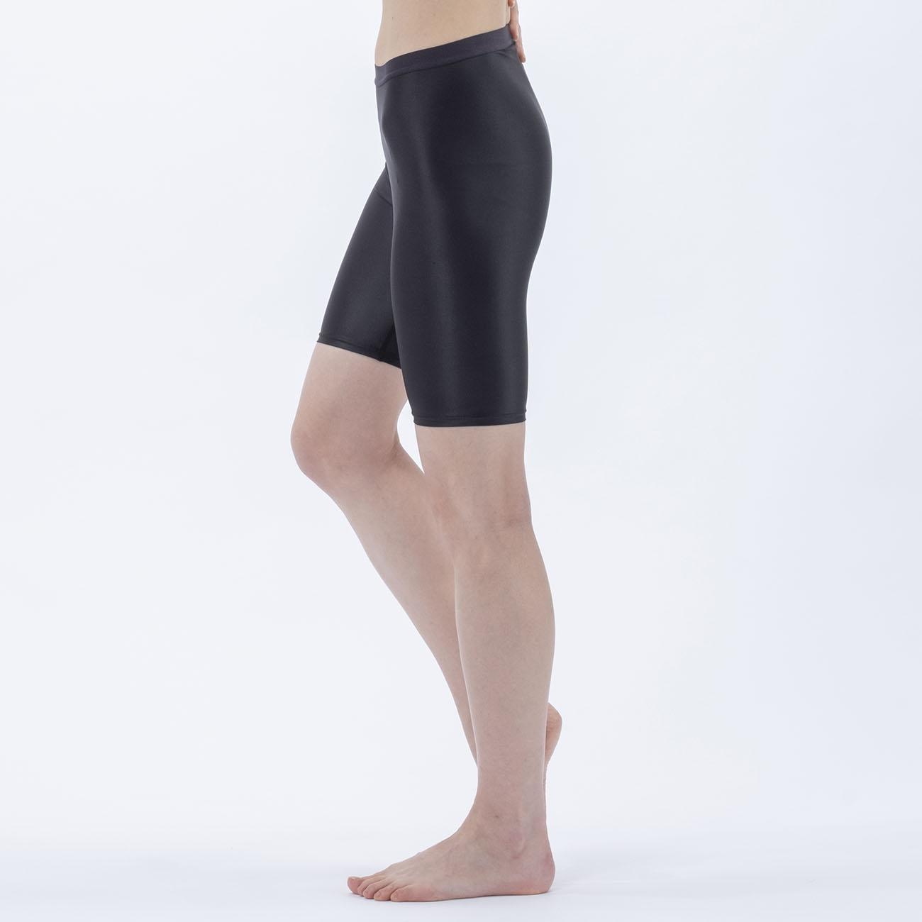 Janestyle(ジェーンスタイル)マルチレイヤードスパッツ5分丈 ブラック