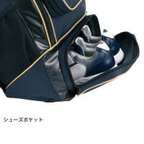 SSKBASEBALLバックパック(34L) ブラック×ゴールド