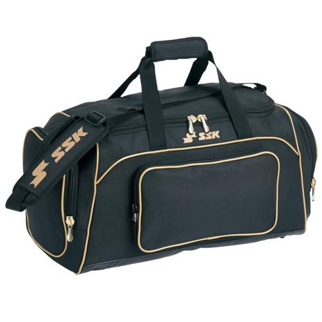 SSKBASEBALLミドルバッグ(53L) ブラック×ゴールド