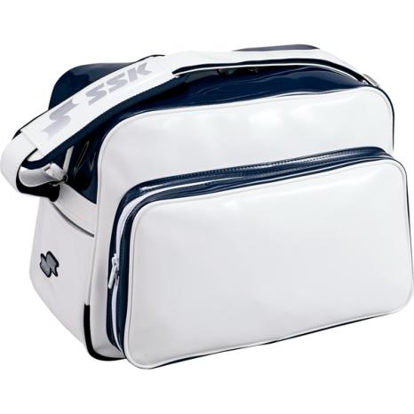SSKBASEBALLショルダーバッグ(36L) ホワイト×ネイビー