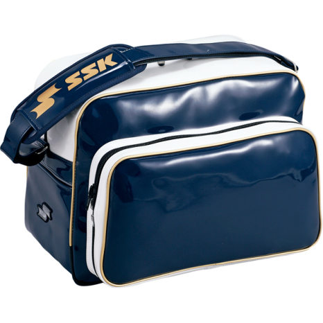 SSKBASEBALLショルダーバッグ(36L) ネイビー×ゴールド