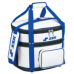 SSKBASEBALLボールバッグ(5ダース用) ホワイト×Dブルー