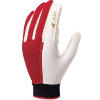 SSKBASEBALL守備用手袋 レッド