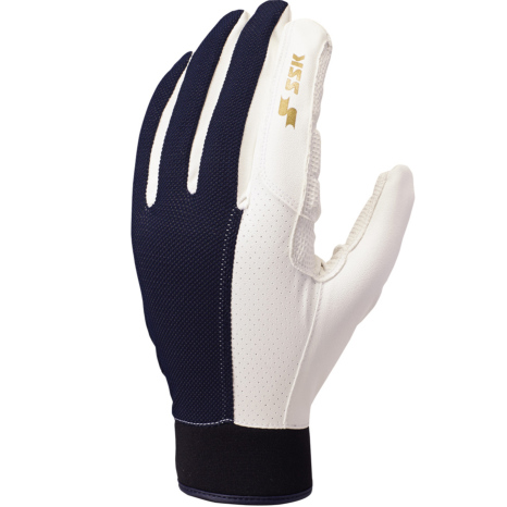 SSKBASEBALL守備用手袋 ネイビー