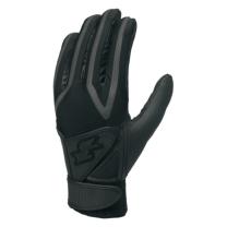 SSKBASEBALL高校野球対応ダブルバンド手袋(両手) ブラック