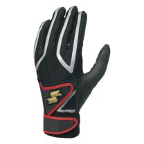 SSKBASEBALL一般用ダブルバンド手袋(両手) ブラック