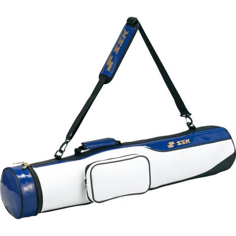 SSKBASEBALLバットケース(5−6本入り) ホワイト×Dブルー