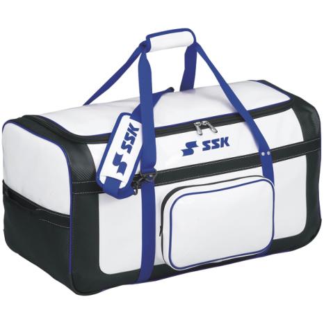 SSKBASEBALLヘルメット兼キャッチャー用具ケース ホワイト×Dブルー